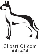 Great Dane Clipart #41434