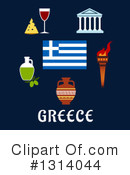 Royalty-Free (RF) Greece Clipart Illustration #1314044