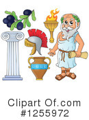 Royalty-Free (RF) Greek Clipart Illustration #1255972