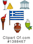 Royalty-Free (RF) Greek Clipart Illustration #1388467