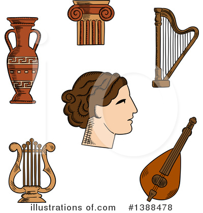 Pottery Clipart #1388478 by Vector Tradition SM
