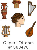 Royalty-Free (RF) Greek Clipart Illustration #1388478