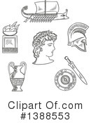 Royalty-Free (RF) Greek Clipart Illustration #1388553