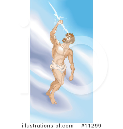 Zeus Clipart #11299 by AtStockIllustration