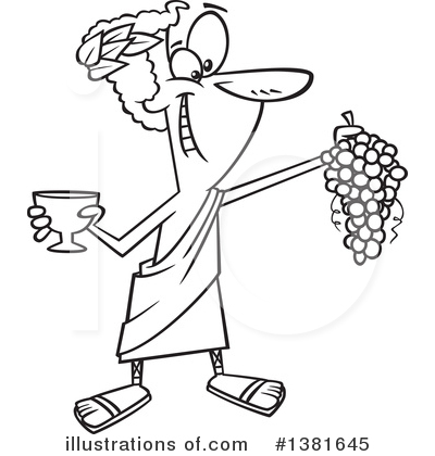 Wine Clipart #1381645 by toonaday