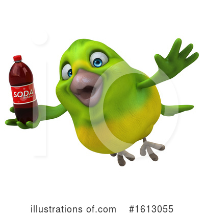 Green Bird Clipart #1613055 by Julos