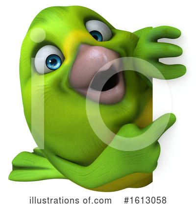Green Bird Clipart #1613058 by Julos