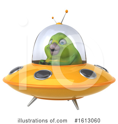 Green Bird Clipart #1613060 by Julos