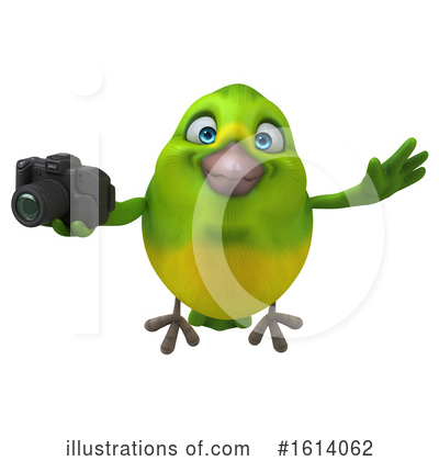 Green Bird Clipart #1614062 by Julos