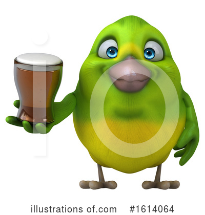 Green Bird Clipart #1614064 by Julos