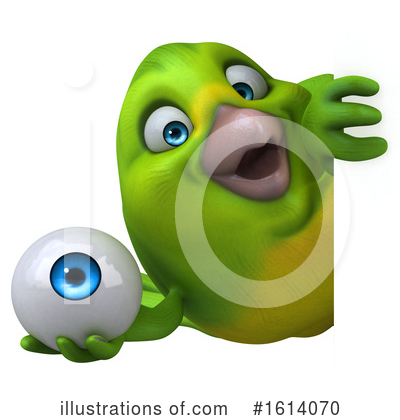 Green Bird Clipart #1614070 by Julos
