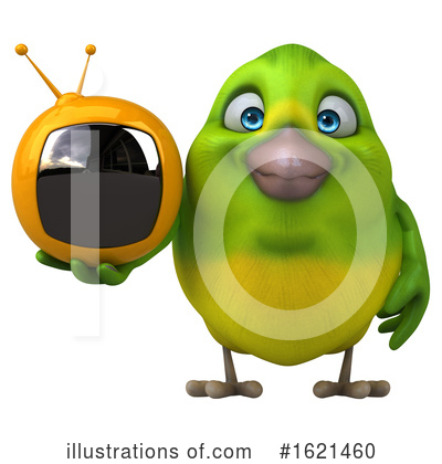 Green Bird Clipart #1621460 by Julos