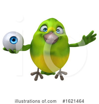 Green Bird Clipart #1621464 by Julos