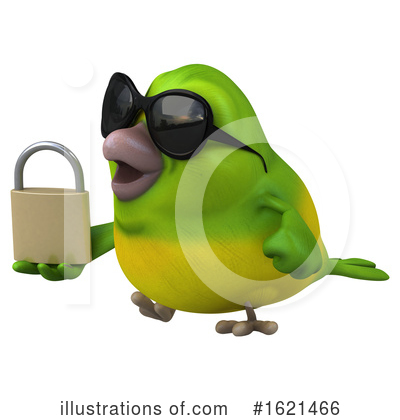Green Bird Clipart #1621466 by Julos