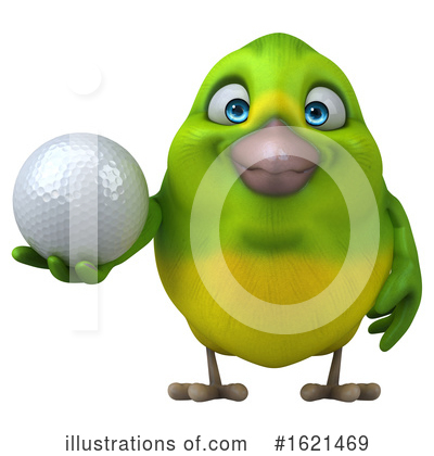 Green Bird Clipart #1621469 by Julos