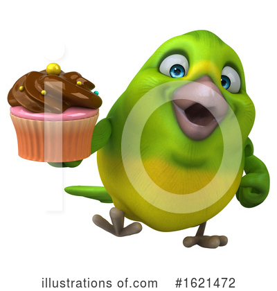 Green Bird Clipart #1621472 by Julos
