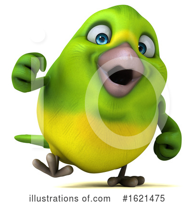 Green Bird Clipart #1621475 by Julos