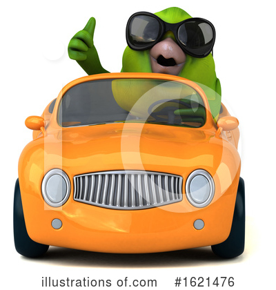 Green Bird Clipart #1621476 by Julos