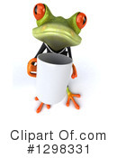 Green Business Frog Clipart #1298331 by Julos