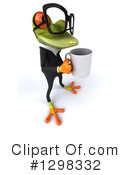 Green Business Frog Clipart #1298332 by Julos