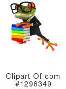 Green Business Frog Clipart #1298349 by Julos