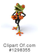 Green Business Frog Clipart #1298355 by Julos