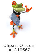 Green Business Frog Clipart #1310562 by Julos