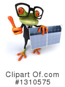 Green Business Frog Clipart #1310575 by Julos