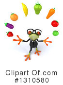 Green Business Frog Clipart #1310580 by Julos