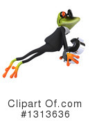 Green Business Frog Clipart #1313636 by Julos