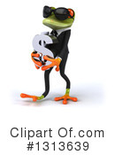 Green Business Frog Clipart #1313639 by Julos