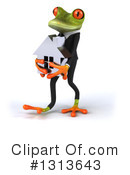 Green Business Frog Clipart #1313643 by Julos