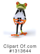 Green Business Frog Clipart #1313644 by Julos