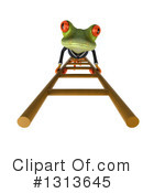 Green Business Frog Clipart #1313645 by Julos