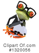 Green Business Frog Clipart #1320056 by Julos