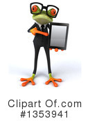 Green Business Frog Clipart #1353941 by Julos