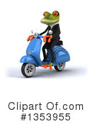 Green Business Frog Clipart #1353955 by Julos
