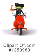 Green Business Frog Clipart #1353963 by Julos