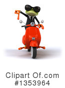 Green Business Frog Clipart #1353964 by Julos
