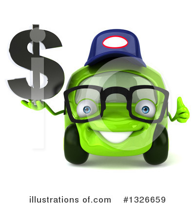 Lime Green Car Clipart #1326659 by Julos