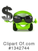 Green Car Clipart #1342744 by Julos