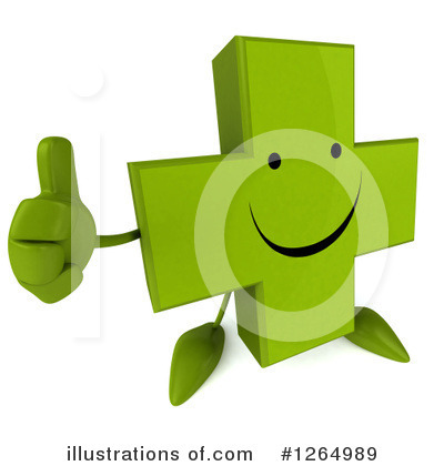 Green Cross Clipart #1264989 by Julos