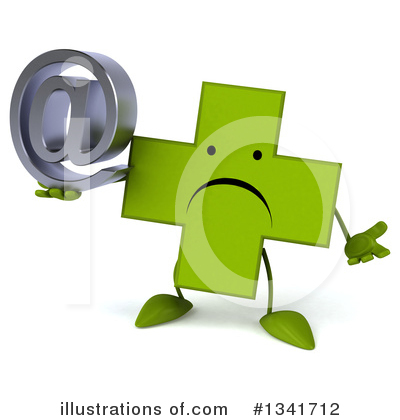 Green Cross Clipart #1341712 by Julos