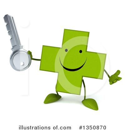 Green Cross Clipart #1350870 by Julos