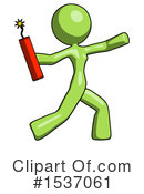 Green Design Mascot Clipart #1537061 by Leo Blanchette