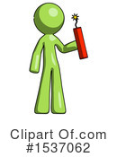 Green Design Mascot Clipart #1537062 by Leo Blanchette