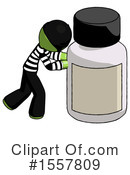Green Design Mascot Clipart #1557809 by Leo Blanchette