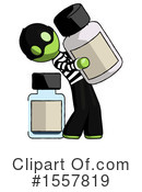 Green Design Mascot Clipart #1557819 by Leo Blanchette