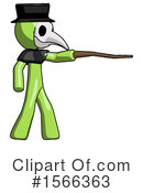 Green Design Mascot Clipart #1566363 by Leo Blanchette