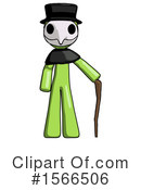 Green Design Mascot Clipart #1566506 by Leo Blanchette